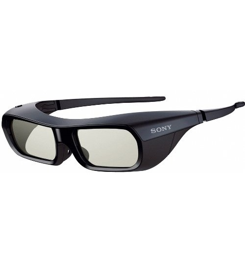 Sony Glasses,Rechargeable 3D Adult Glasses,TDG-BR250, Black