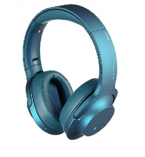 HEADPHONES,h.ear on Wireless NC,Wireless Technology,Bluetooth and NFC One-touch,MDR-100ABN,Blue,Agent Guarantee