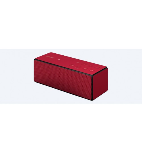 Wireless Speakers,Sony,Wireless BLUETOOTH Speaker,Portable,NFC One-touch,SRS-X3,Red,Agent Guarantee
