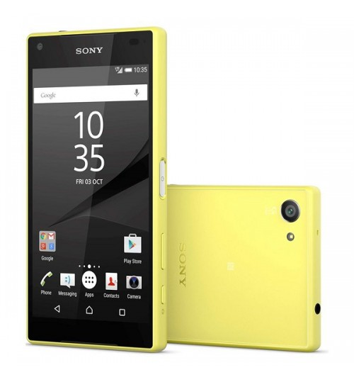SONY Xperia Z5 Compact ,E5803,Yellow ,32GB Internal,4G,4.6″ Screen,Agent Guarantee