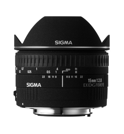 Camera Lens,Sigma 15mm f/2.8 EX DG Diagonal Fisheye Lens for Canon SLR Cameras,15DGFISHEYEEX,Nikon Camera,Agent Guarantee