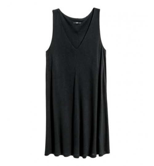 H&M V Neck Jersey Dress