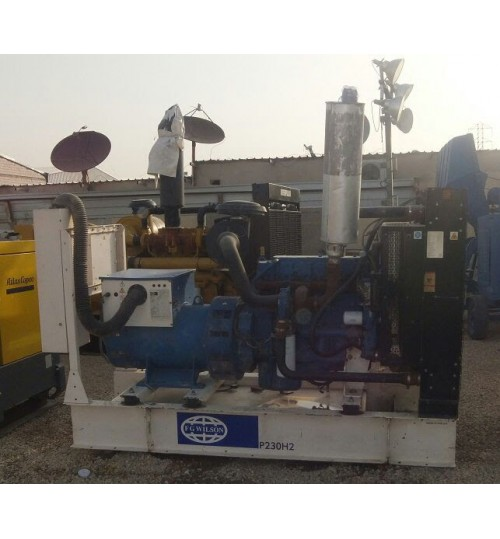 Generator Cat Perkins Olympian Used Generator 180 kW in Very Good Condition like new diesel generator Model WD P180
