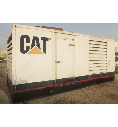 Generator Caterpillar C18 Used Generator Catepillar Model 2009 Power 550 kW,in Very Good Condition like new