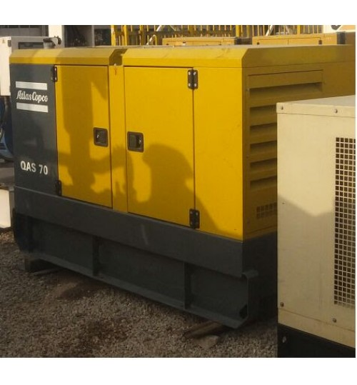 Generator Atlas Copco Used Generator Atlas copco 55 kW in Very Good Condition like new,diesel generator set