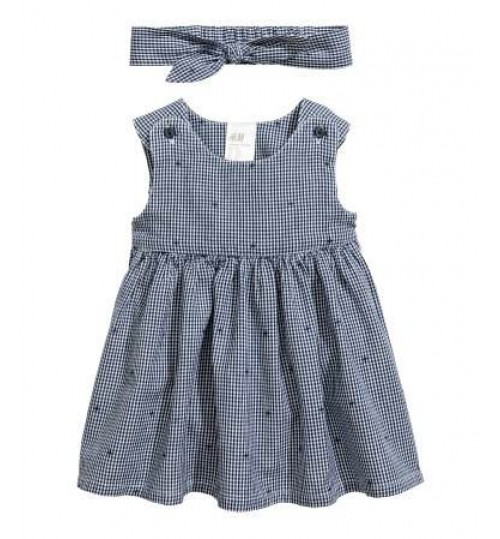 H&M Baby Girl Dress And Hairband