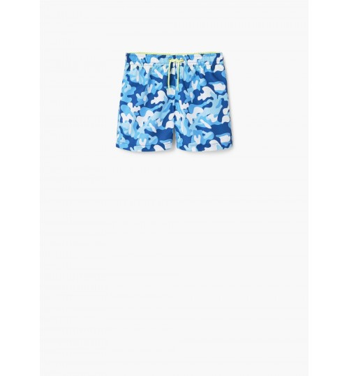 MANGO Kids Boy Camo-Print Swimsuit