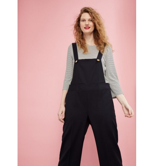 MANGO Plus Size Wool Long Jumpsuit