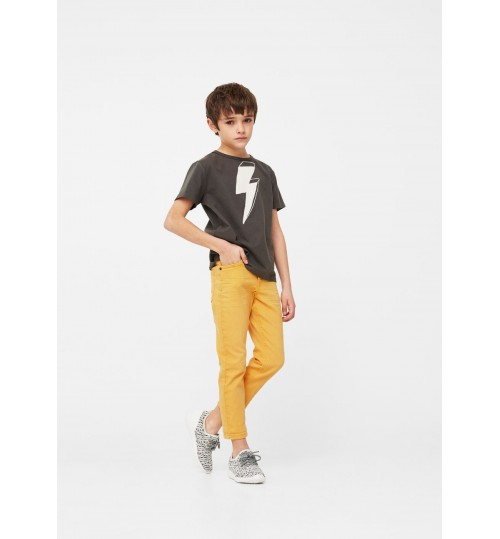 MANGO Kids Boy Slim-Fit Jeans