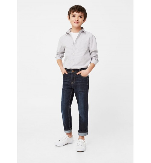 MANGO Kids Boy Regular-Fit Jeans