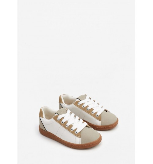 MANGO Kids Boy Lace-Up Sneakers