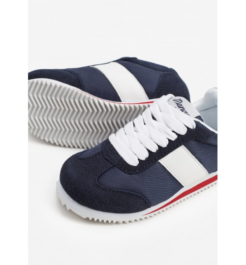 MANGO Kids Boy Contrast Panel Sneakers