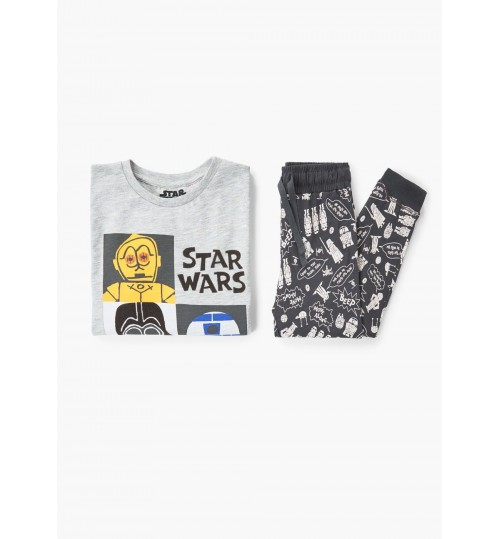 MANGO Kids Boy Star Wars Long Pyjamas