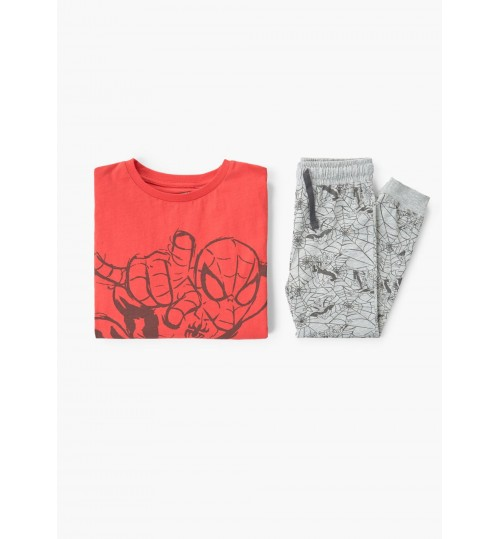 MANGO Kids Boy Spiderman Long Pyjamas