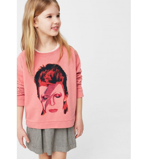 MANGO Kids Image Cotton Sweatshirt