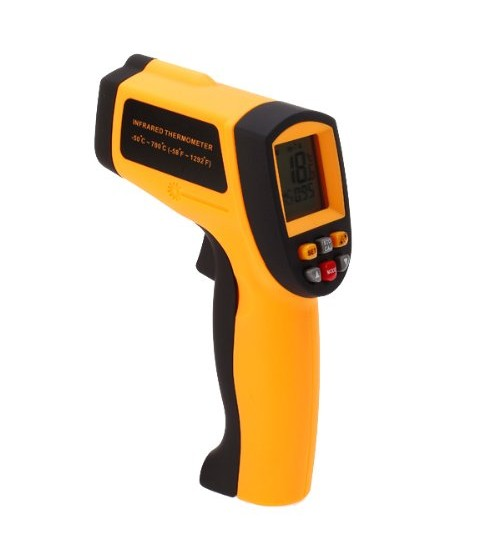 high temperature Handheld Infra red IR Thermometer Precise Digital Noncontact Thermometer upto 700 Degree