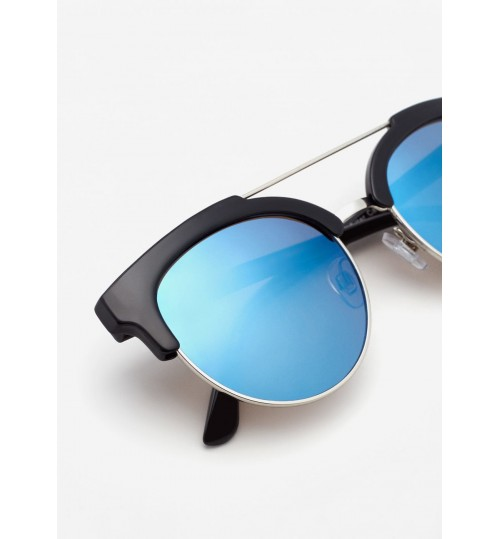 MANGO Mirrored Lenses Sunglasses