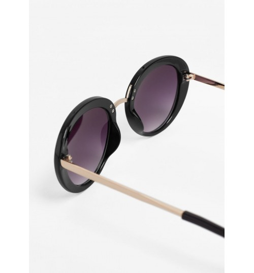 MANGO Contrast Arm Sunglasses
