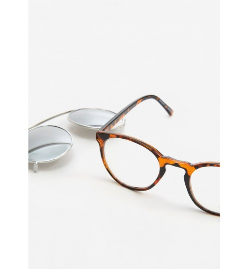 MANGO Clip-On Lens Sunglasses