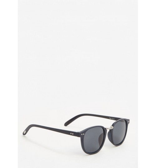 MANGO Metal Bridge Sunglasses