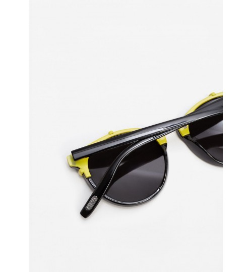 MANGO Metal Appliqué Sunglasses