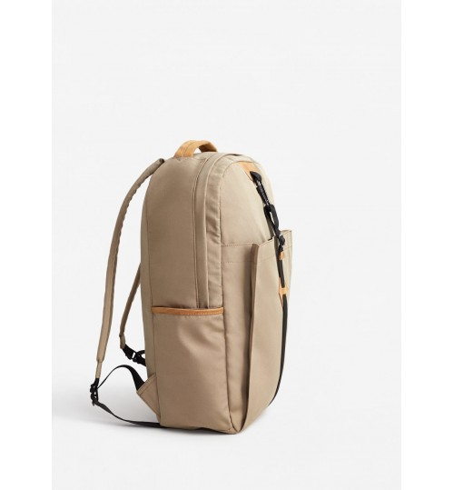 MANGO Canvas Mixed Backpack
