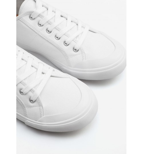 MANGO Canvas Sneakers
