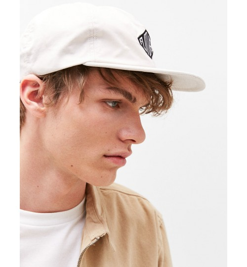 "Bershka ""Future"" Embroidered Soft Cap"