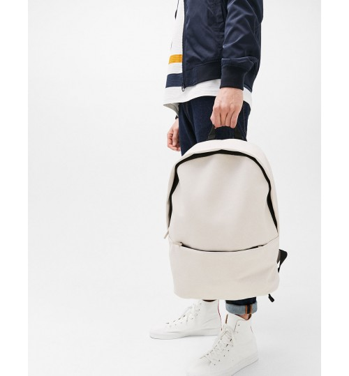 Bershka Backpack With Front Pocket