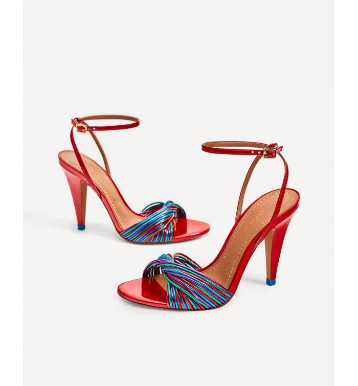 look good shoes sale picked up autumn shoes ZARA Multi-Strap Sandal