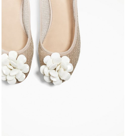 ZARA Kids Ballerinas With Applique