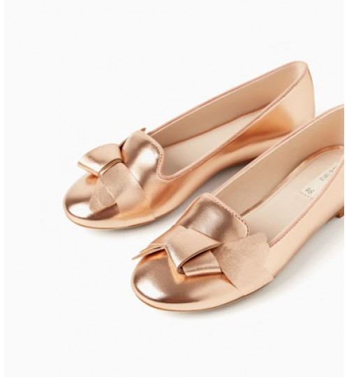 ZARA Kids Metallic Shoes