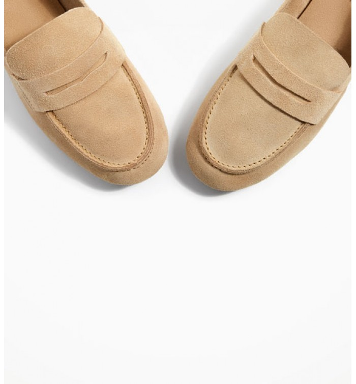 d18c77524aa ZARA Kids Leather Loafers
