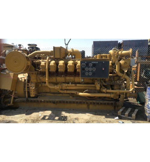 Generator Caterpillar Type 3512 Model 2011 Gas Fuel Power 1500 Kva Guarantee and Operation Mob 00966543021937