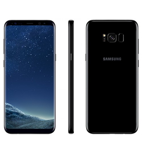 Samsung Galaxy S8 Plus ,Dual SIM,64 GB,Camera 12 MP,4K,RAM 4GB,6.2 inch,Octa CoreوBlack,Agent Guarantee