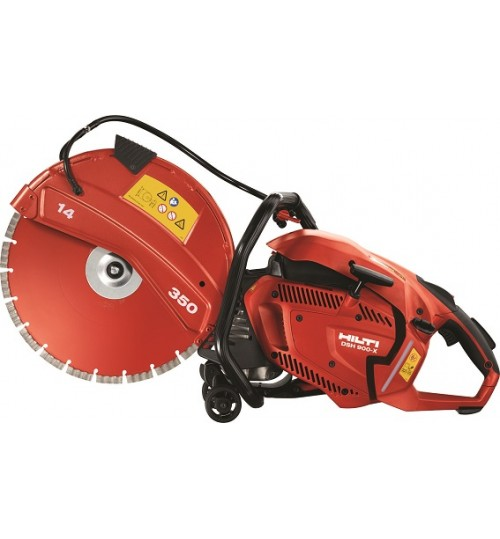 Hilti Saw Machine model DSH 900 X Hand-held gas saw with easy starting 80 ccm engine for cutting to depths upto 150mm agent guarantee