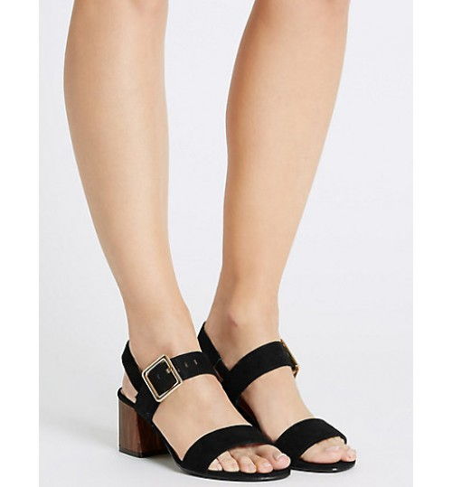 Marks & Spencer Block Heel Sandals