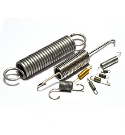Extension springs high quality steel springs available in different sizes