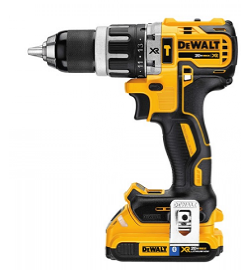 Drill Dewalt available in saudi model DCD796D2BT with bluetooth battery 20 volt agent guarantee