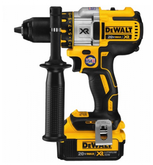 dewalt drill model DCD990M2 battery 20 volt size 1/2 inch agent guarantee