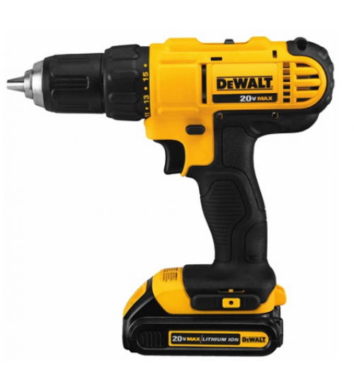 dewalt drill model DCD771C2 battery 20 volt size 1/2 inch agent guarantee