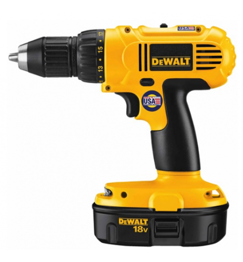 dewalt drill model DC759KA battery 18 volt size 1/2 inch agent guarantee