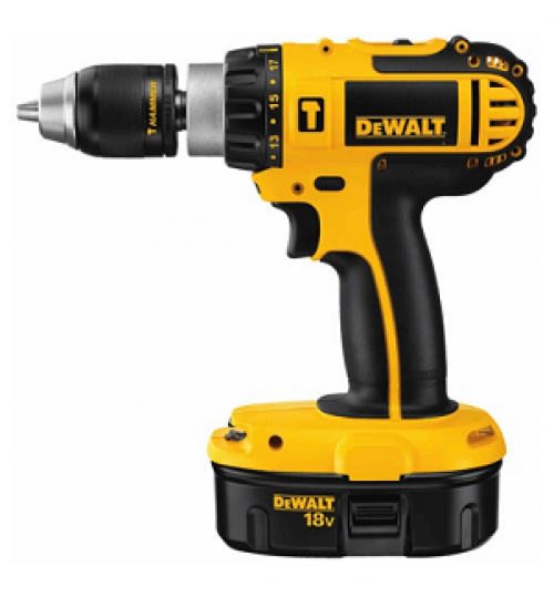 dewalt drill model DC725KA battery 18 volt size 1/2 inch agent guarantee