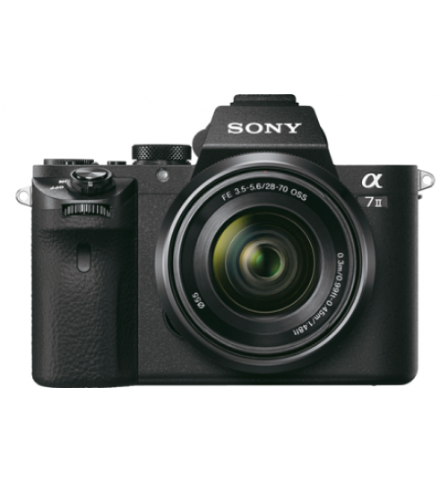 Camera Sony,α7 II E-mount Camera with Full Frame Sensor,24.3 MP,agent Guarantee