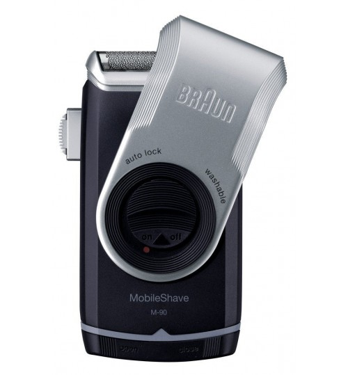 Braun Model M-90 Battery Operated Mobile Shaver