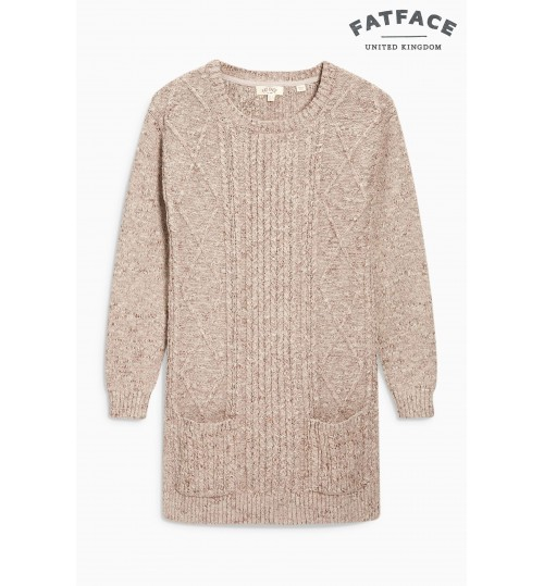 Fat Face Pebble Alana Cable Jumper
