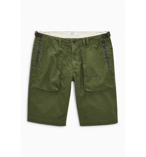 NEXT Khaki Tech Utility Shorts