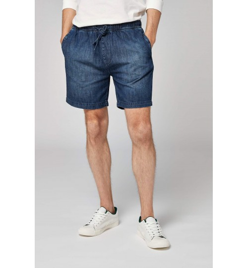 NEXT Dark Denim Dock Shorts