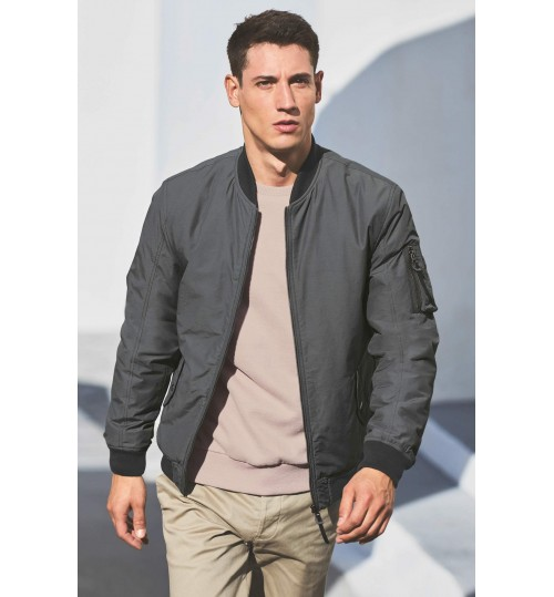 NEXT Grey MA1 Bomber Jacket