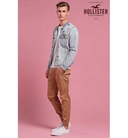 Hollister Light Wash Denim Jacket